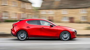 Mazda 3 - side action