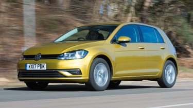 Honda Civic vs Volkswagen Golf vs Renault Megane - golf tracking