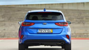 Kia Ceed - full rear
