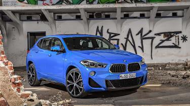 BMW X2 leak front quarter