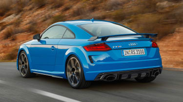 Audi TT RS Coupe - rear action