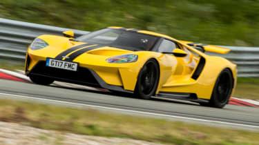 Ford GT Norway road trip - racing line