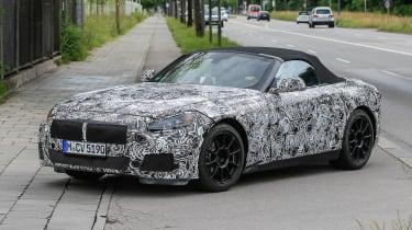 New BMW Z4 road