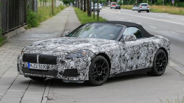 New BMW Z4 road