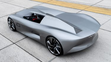 Infiniti Prototype 10 Speedster - rear