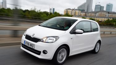 Used Skoda Citigo - front action