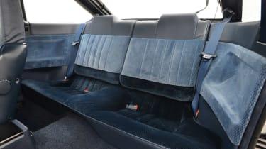Toyota AE86 rear seats
