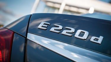 Mercedes E-Class - badge detail