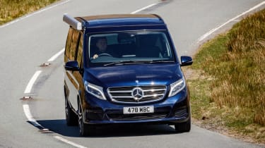 Mercedes V-Class Marco Polo - front cornering