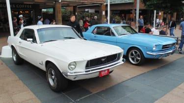 Coventry Motofest 2016 - Mustangs