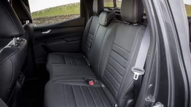 Mercedes X-Class review - interior rear