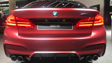 New BMW M5 - rear