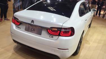 Citroen C6 - Beijing Motor Show - rear