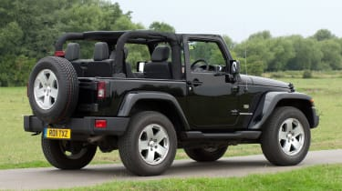 Used Jeep Wrangler - rear