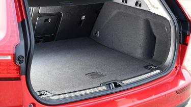 Volvo V60 - long termer first report boot