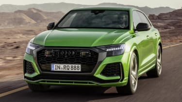 Fastest SUVs in the world - Audi RS Q8