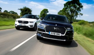 DS 7 Crossback vs Volvo XC40 - header