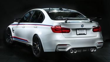 BMW M Performance Parts at SEMA 2016 - M3 rear quarter