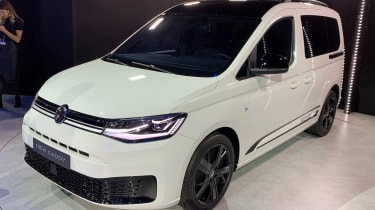 VW Caddy Vision - front reveal