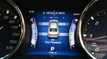 Maserati Quattroporte 2014 speedometer