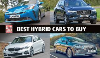Best hybrid cars to buy - header