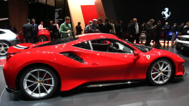 New Ferrari 488 Pista side
