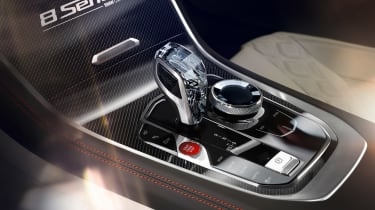 BMW Concept 8 Series - transmission