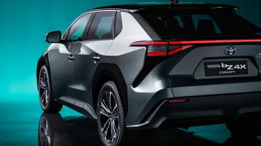 Toyota bZ4X concept - rear detail