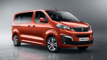 Peugeot Traveller front quarter