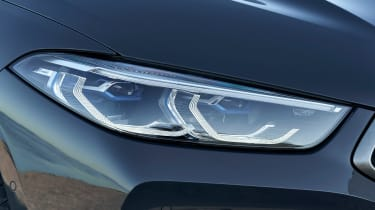 BMW 8 Series Convertible - front light
