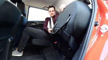 Honda Jazz long-term third report - rear seats