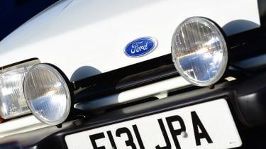 Ford Fiesta XR2 - lights