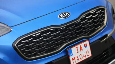 Kia Sportage 48V hybrid - grille