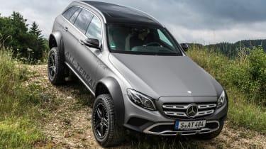 Mercedes E-Class All Terrain - off road