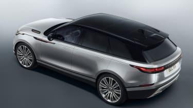 Range Rover Velar - studio rear quarter