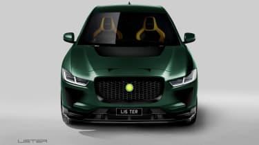 Lister SUV-E Concept - full front