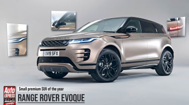 Range Rover Evoque - 2019 Small Premium SUV of the Year