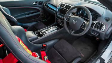 Jaguar XKR-S GT coupe interior