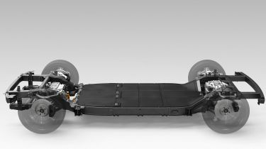Hyundai Canoo skateboard platform