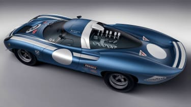 Ecurie Ecosse LM69 - rear studio