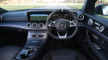 Mercedes-AMG E 63 S long termer - first report dash