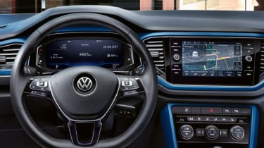 Getting personal with the T-Roc (sponsored) - interior blue