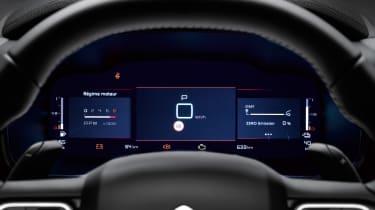 Citroen C5 Aircross Hybrid - dials
