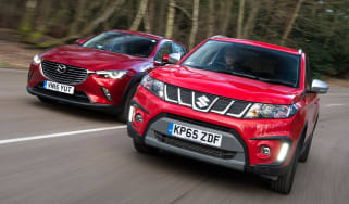 Suzuki Vitara S vs Mazda CX-3 - header