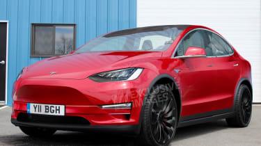 Tesla Model Y exclusive image - front