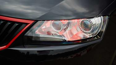 Skoda Atero headlight