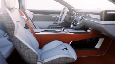 Volvo Concept Estate seats