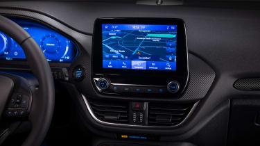 Ford Fiesta facelift - infotainment