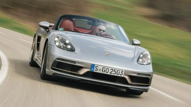 Porsche Boxster 25 Years - full front