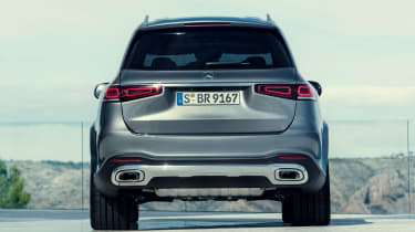 Mercedes GLS - grey full rear static